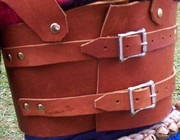 Viking Armour Back View