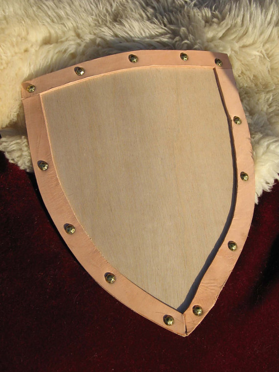 Knight's Curved Heater Shield